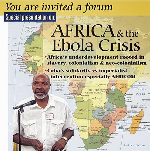 Abayomi Azikiwe Speaks in New York